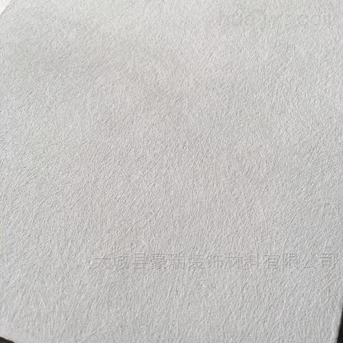 纯白色素粘岩棉吸音板